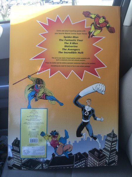 Giant Marvel Comics Super Heroes Board Game Large size - 3