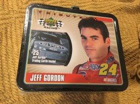 Nascar Racing Metal Lunch Box Jeff Gordon #24 Upper