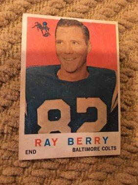 Raymond Berry 1959 Topps #55