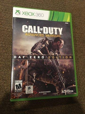 Xbox 360 Call of duty Advanced Warfare Day Zero Edition