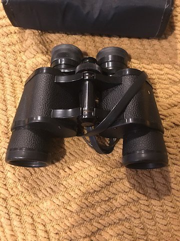 Bushnell Falcon 7x35 Binoculars with Case - 2