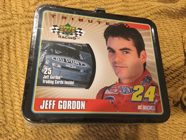 NASCAR RACING METAL LUNCH BOX JEFF GORDON #24 UPPER