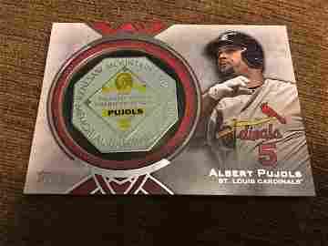 Albert Pujols 2015 Commemorative MVP Trophy Card MVP-AP