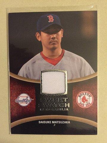 Daisuke Matsuzaka 2008 UD Sweet Spot Jersey Card