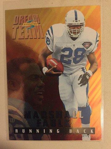 Marshall Faulk 1996 Score Dream Team Insert