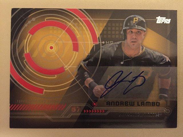 Andrew Lambo 2014 Topps Autograph Insert Card