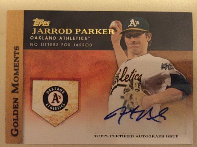 Jarrod Parker 2012 Topps Autograph Insert