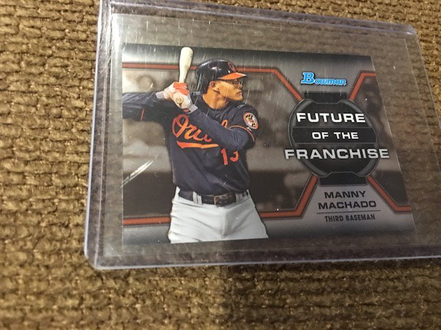 Manny Machado 2013 Bowman Future Of the Franchise