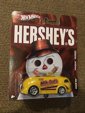Hot Wheel's Hershey's Milk Duds Haulin Cars