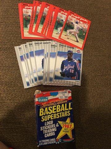 1987 Fleer Limited Edition Baseball Superstars Set Plus