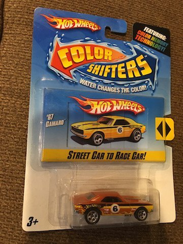 Hot Wheels Color Shifters '67 Camaro Street Car to Race