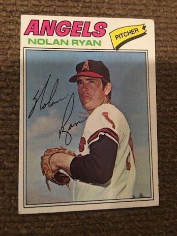 Nolan Ryan 1977 Topps #650
