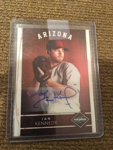 Ian Kennedy 2011 Panini Limited Autograph Card #15 (#D