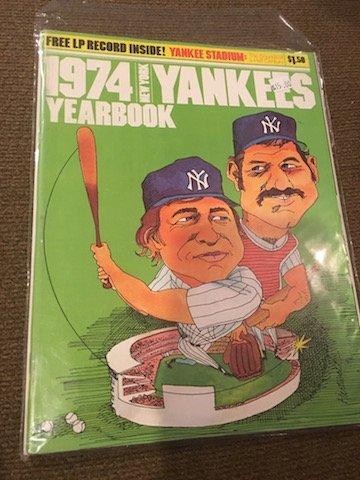 New York Yankees Yearbook 1974