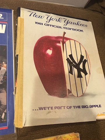 New York Yankee Yearbook Lot 1979 1980 and 1981 - 4