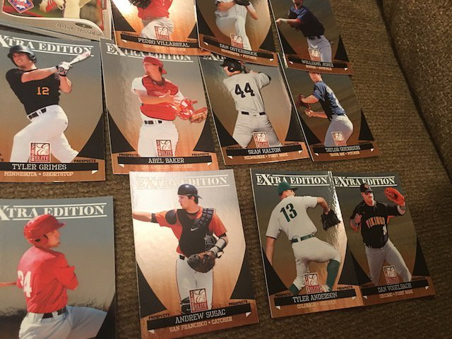 Huge Baseball Card Lot Loaded with Prospects Topps - 3