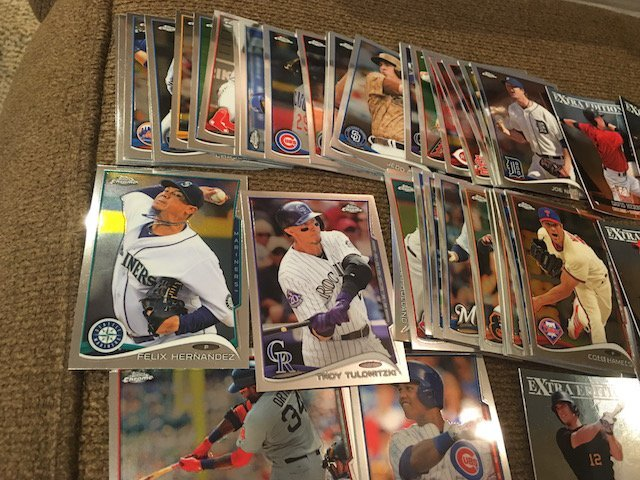 Huge Baseball Card Lot Loaded with Prospects Topps - 5