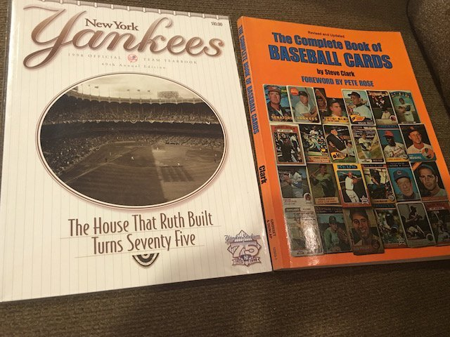 New York Yankees 1998 Yearbook and 1982 The Complete