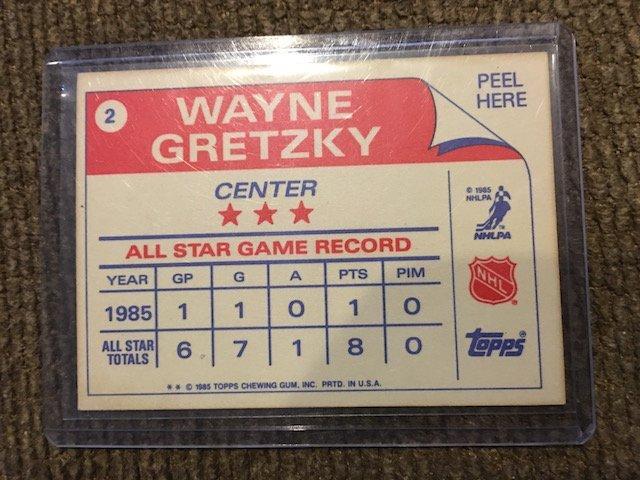 Wayne Gretzky 1985 Topps #2 - 2