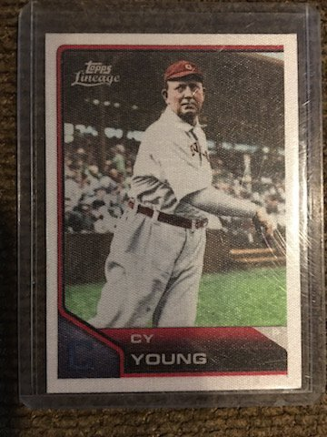 Cy Young 2011 Topps Lineage #TCS33