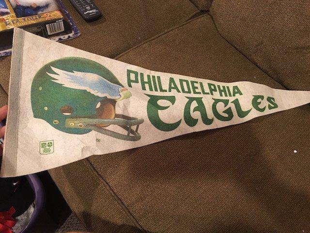 Philadelphia Eagles Vintage Pennant