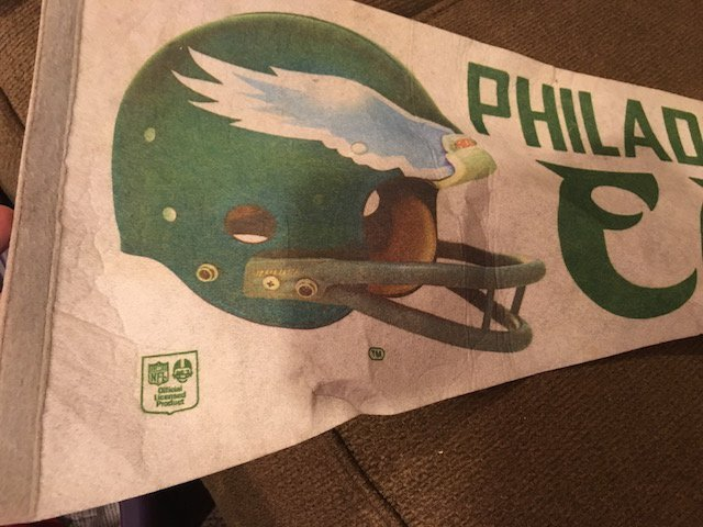 Philadelphia Eagles Vintage Pennant - 2