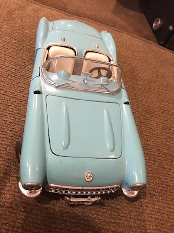 Road Tough 1957 Chevrolet Corvette Convertible Light - 2