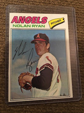 1977 Topps Nolan Ryan California Angels #650 Baseball
