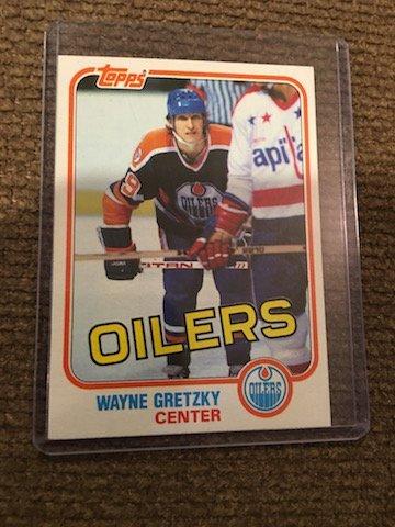 1981-82 Topps NHL #16 Wayne Gretzky Edmonton Oilers HOF