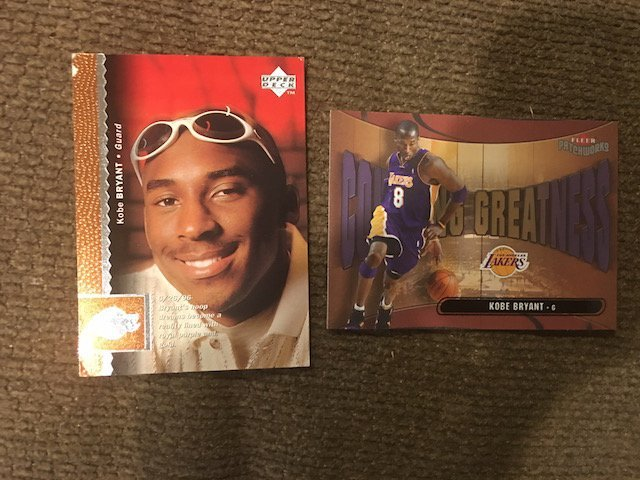 1996-97 UPPER DECK #58 KOBE BRYANT RC Rookie Top Left