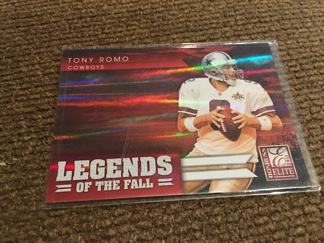 2011 Donruss Elite Tony Romo Legends of the Fall SP