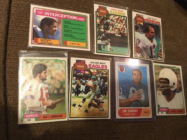 Vintage Football 1960's and 1970's Vintage Football