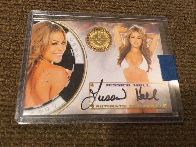 2014 Benchwarmer Jessica Hall Autograph Card