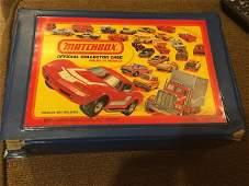 24 Vintage Matchbox 1980 Lesney Official Collector Case