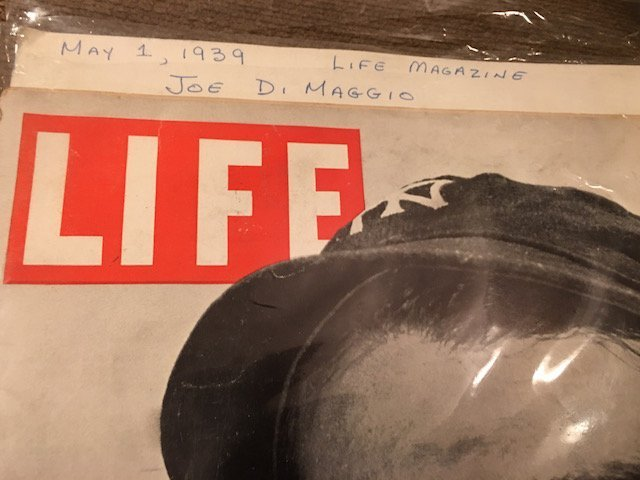 MAY 1, 1939 LIFE MAGAZINE w/ JOE DIMAGGIO ON - 3