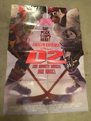 D2: The Mighty Ducks 1994 Original Movie Poster Comedy