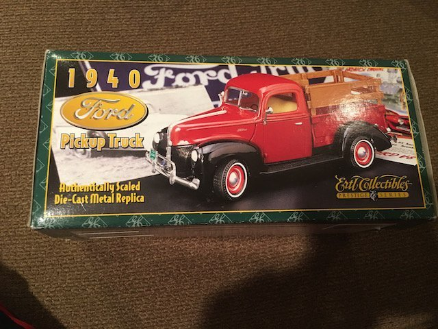 1940 Ford Pickup Truck Ertl Collectibles Truck new in