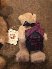 Lot of 2 Boyds Bear teddy bears: home is Where Mom is - 2