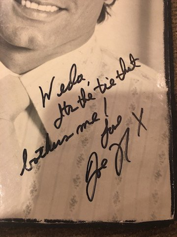 Joe Namath Vintage Wooden Photo Autographed with - 2