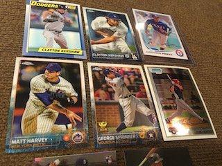 Baseball card Lot Clayton Kershaw Profar Mike Stanton - 3