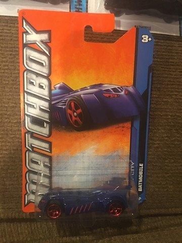 Lot of 3 Batman Hot Wheels and Matchbox Cars - 2