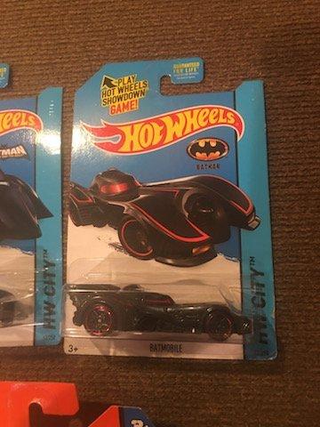 Lot of 3 Batman Hot Wheels and Matchbox Cars - 4