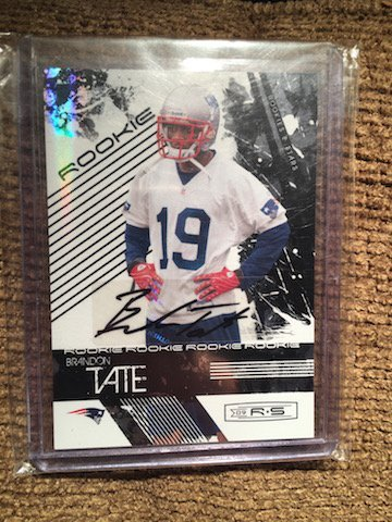 Brandon Tate 2009 Rookie and Stars Auto RC #151