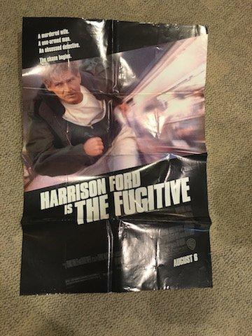 The Fugitive Original Movie Poster Harrison Ford