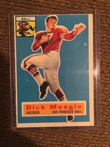 1956 Topps Dick Moegle #14