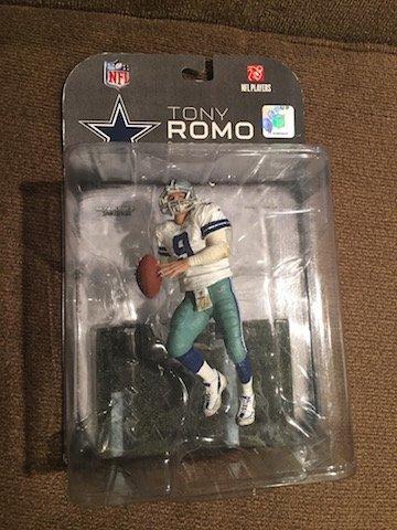 Mcfarlane Tony Romo NFL Football Figure