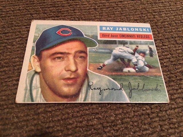 1956 Topps #86 Ray Jablonski