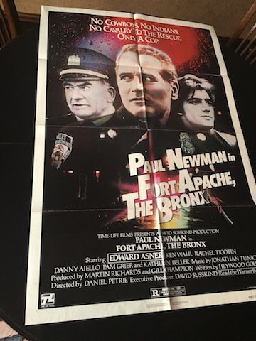 FORT APACHE, THE BRONX Movie POSTER 27x40 Paul Newman - 3