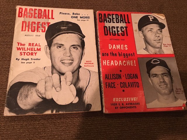 Exclusive! Baseball Digest The Real Wilhelm Story & Roy