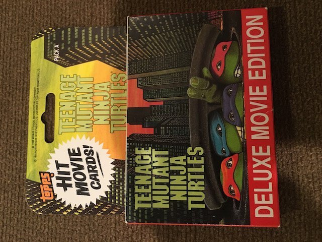 Topps Teenage Mutant Ninja Turtles Hit Movie Cards Pack